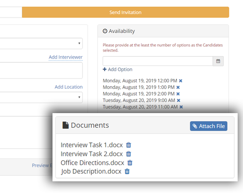 interview management system